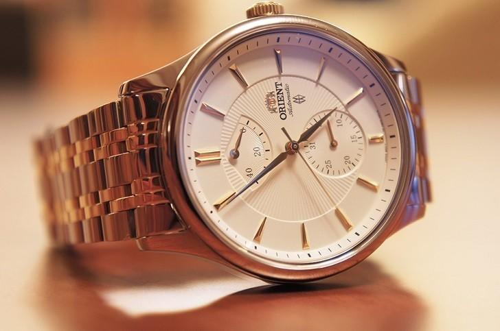 Đồng hồ Orient SFM02001W0 máy cơ, trữ cót khoảng 40 giờ - Ảnh: 1