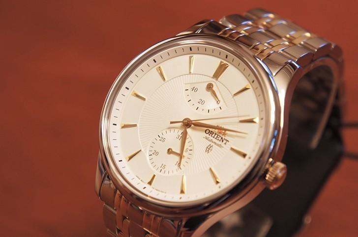 Đồng hồ Orient SFM02001W0 máy cơ, trữ cót khoảng 40 giờ - Ảnh: 4