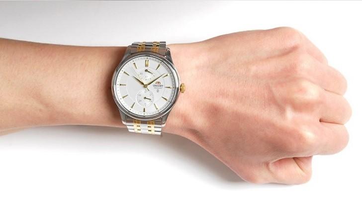 Đồng hồ Orient SFM02001W0 máy cơ, trữ cót khoảng 40 giờ - Ảnh: 5