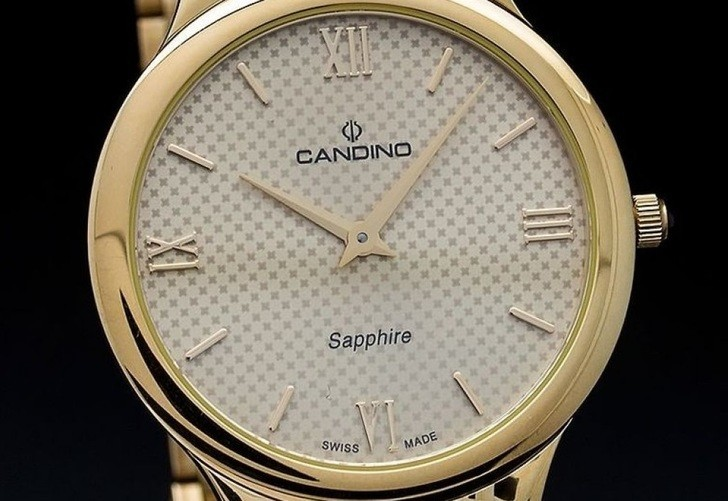 ồng hồ Candino C4363/3 kính sapphire, thay pin miễn phí - Ảnh 3