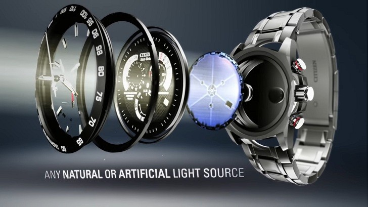 Đồng hồ Eco-Drive Citizen EM0401-59A năng lượng ánh sáng - Ảnh 3