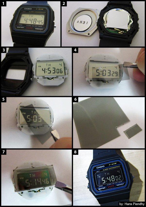 """""""Độ"""" Đồng Hồ Điện Tử Casio F-91W Huyền Thoại Thêm Tính Năng Siêu Đã LCD"""
