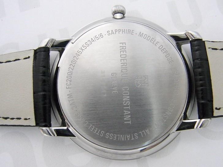 Frederique Constant FC-200S5S36 mặt kính Sapphire bền bỉ - Ảnh 7