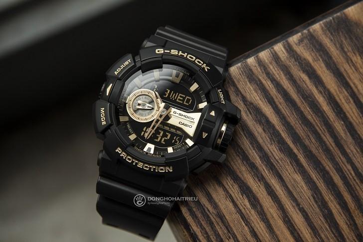 Đồng hồ G-Shock GA-400GB-1A9DR giá rẻ, thay pin miễn phí - Ảnh 1