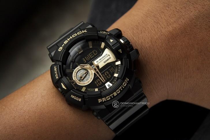 Đồng hồ G-Shock GA-400GB-1A9DR giá rẻ, thay pin miễn phí - Ảnh 2