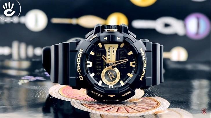 Đồng hồ G-Shock GA-400GB-1A9DR giá rẻ, thay pin miễn phí - Ảnh 4