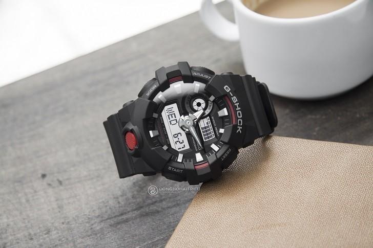 Đồng hồ nam G-Shock GA-700-1ADR giá rẻ, thay pin miễn phí - Ảnh 1