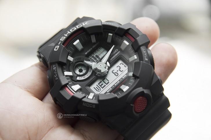 Đồng hồ nam G-Shock GA-700-1ADR giá rẻ, thay pin miễn phí - Ảnh 2