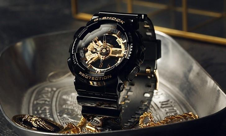 Đồng hồ G-Shock GA-110GB-1ADR chống nước, thoải mái bơi lặn - Ảnh: 3