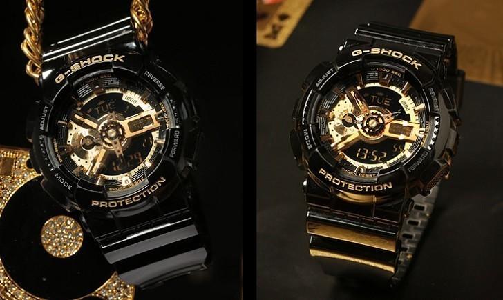 Đồng hồ G-Shock GA-110GB-1ADR chống nước, thoải mái bơi lặn - Ảnh: 4