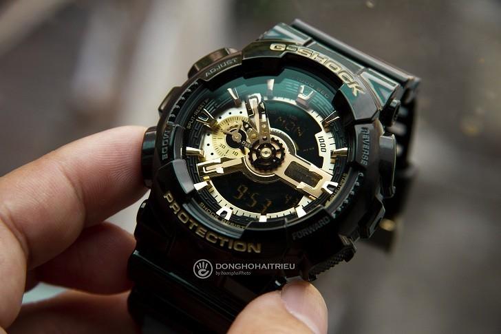Đồng hồ G-Shock GA-110GB-1ADR chống nước, thoải mái bơi lặn - Ảnh: 1