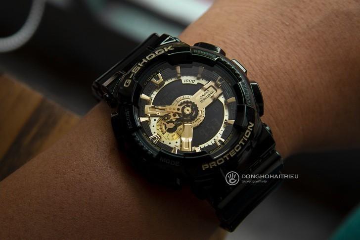 Đồng hồ G-Shock GA-110GB-1ADR chống nước, thoải mái bơi lặn - Ảnh: 2