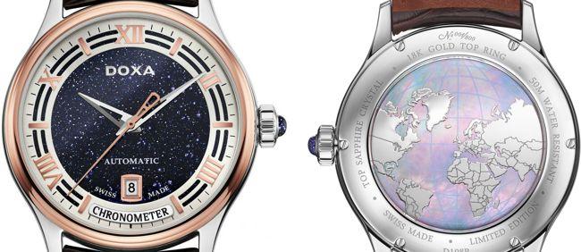 Khám Phá Doxa GrandeMetre Blue Planet® Chronometer D198RBU, Siêu Phẩm Dùng Chất Liệu Quý Gợi Nhớ Về Thiên Nhiên Tươi Đẹp Mặt