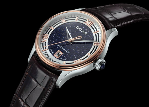 Khám Phá Doxa GrandeMetre Blue Planet® Chronometer D198RBU, Siêu Phẩm Dùng Chất Liệu Quý Gợi Nhớ Về Thiên Nhiên Tươi Đẹp Đá