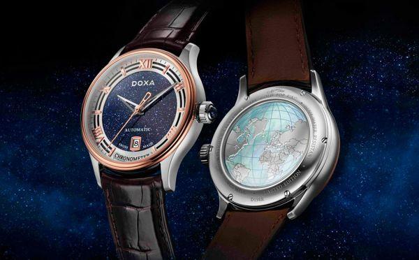 Khám Phá Doxa GrandeMetre Blue Planet® Chronometer D198RBU, Siêu Phẩm Dùng Chất Liệu Quý Gợi Nhớ Về Thiên Nhiên Tươi Đẹp