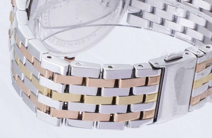 Đồng hồ Michael Kors MK3203 niềng đính pha lê sang trọng - Ảnh 4