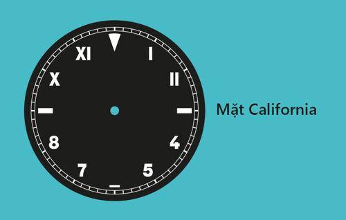 Nhận Biết Các Kiểu Mặt Đồng Hồ Đeo Tay Phổ Biến Nhất Hiện Nay California