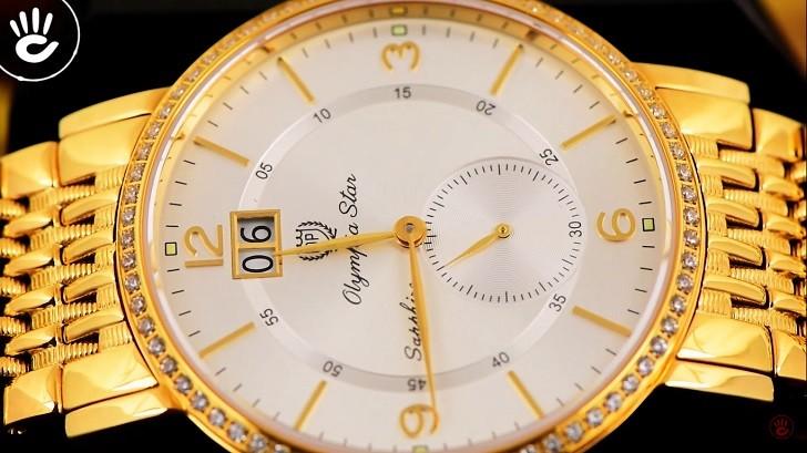 Đồng hồ OP 58012DMK-T-DP-04 mặt kính Sapphire chống trầy - Ảnh 6
