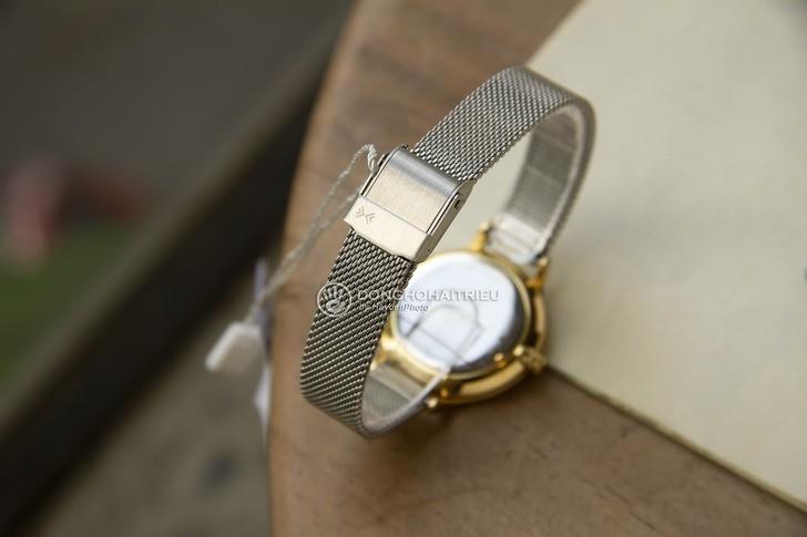 Đồng hồ Skagen SKW2340: Vỏ và dây kim loại cứng cáp - Ảnh 4