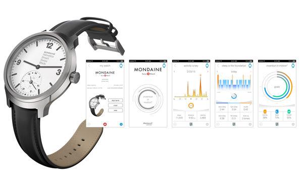 2017, Hàng Loạt Đồng Hồ Thông Minh Smartwatch Thương Hiệu Sừng Sỏ Ra Đời (Phần 2) Mondaine