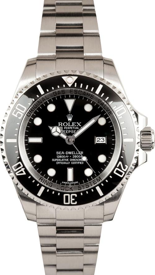 6 Mẫu Đồng Hồ Đặc Biệt Dùng Trong Những Cuộc Phiêu Lưu Khắc Nghiệt Rolex Sea-Dweller Deepsea