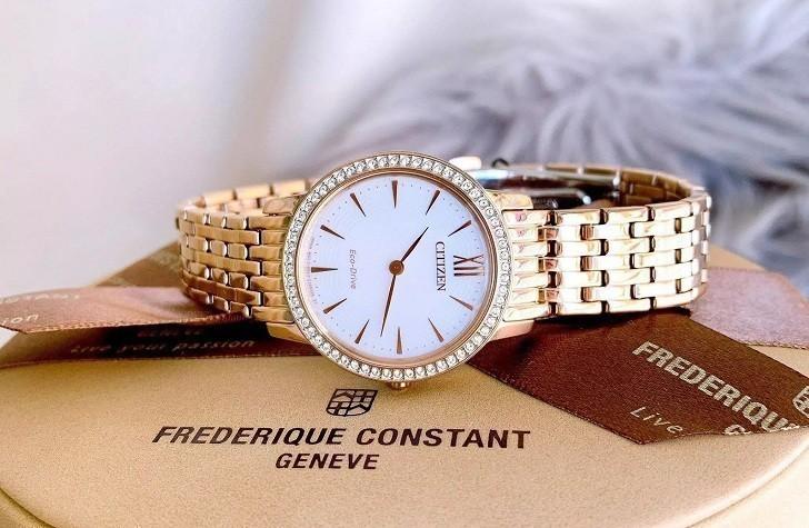 Đồng hồ nữ Citizen EX1483-84A bộ máy năng lượng ánh sáng - Ảnh 5