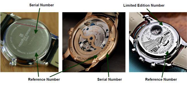 3 Cách Phân Biệt Đồng Hồ Frederique Constant Thật Giả Dễ-Nhanh-Chuẩn Serial Number