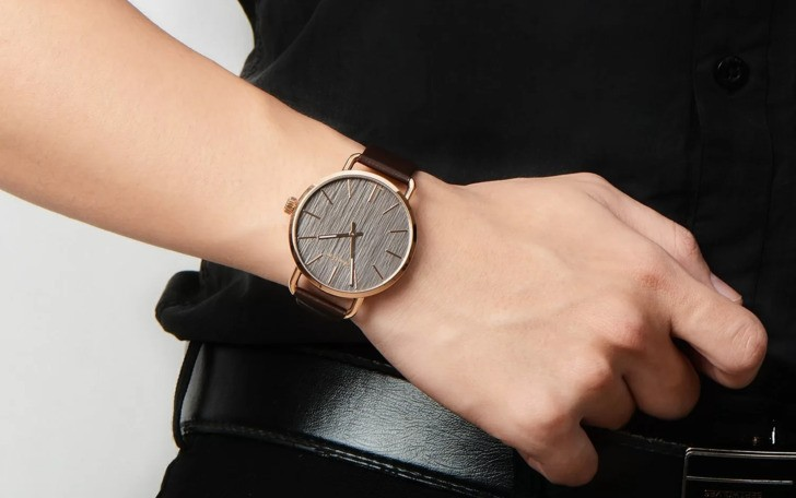 Đồng hồ Calvin Klein K7B216G3 thời trang, dây da lịch lãm - Ảnh 1