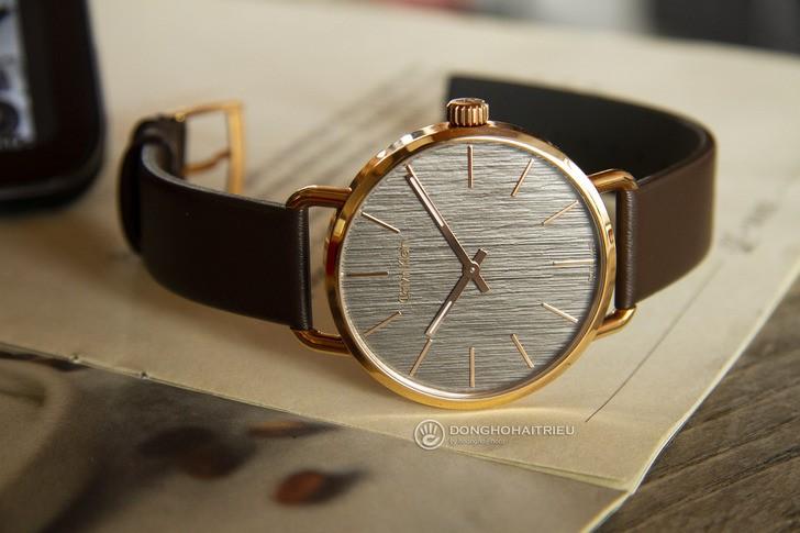Đồng hồ Calvin Klein K7B216G3 thời trang, dây da lịch lãm - Ảnh 3