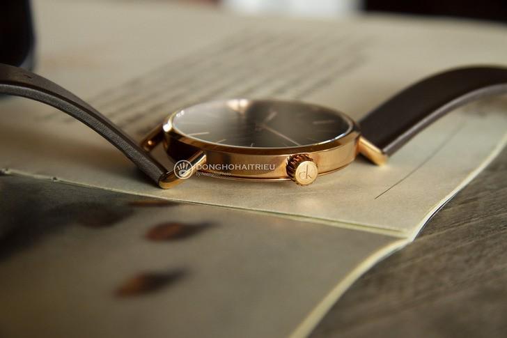Đồng hồ Calvin Klein K7B216G3 thời trang, dây da lịch lãm - Ảnh 5
