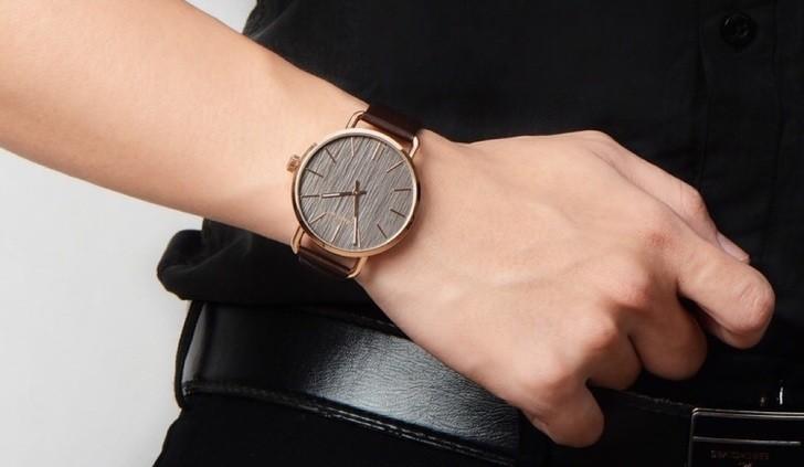 Đồng hồ Calvin Klein K7B236G3 thời trang, máy quartz gọn nhẹ - Ảnh 5