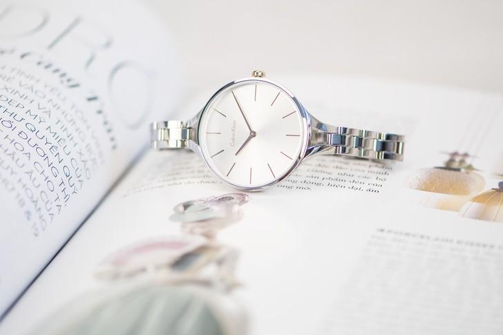 Đồng hồ nữ Calvin Klein K7E23B46 kiểu lắc tay thời trang - Ảnh 2