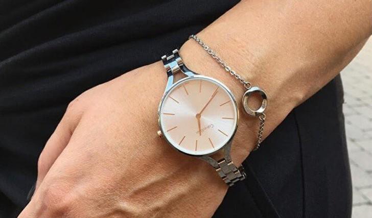 Đồng hồ nữ Calvin Klein K7E23B46 kiểu lắc tay thời trang - Ảnh 3