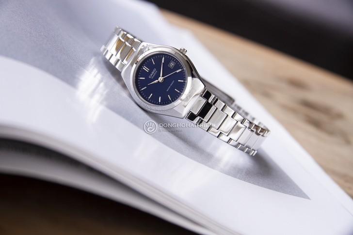 Đồng hồ Casio LTP-1170A-2ARDF mặt xanh, thời trang trẻ trung - Ảnh 1