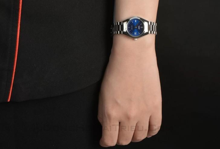 Đồng hồ Casio LTP-1170A-2ARDF mặt xanh, thời trang trẻ trung - Ảnh 3