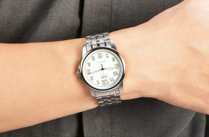 Đồng hồ Casio MTP-1216A-7BDF giá rẻ, free thay pin trọn đời - Ảnh 1