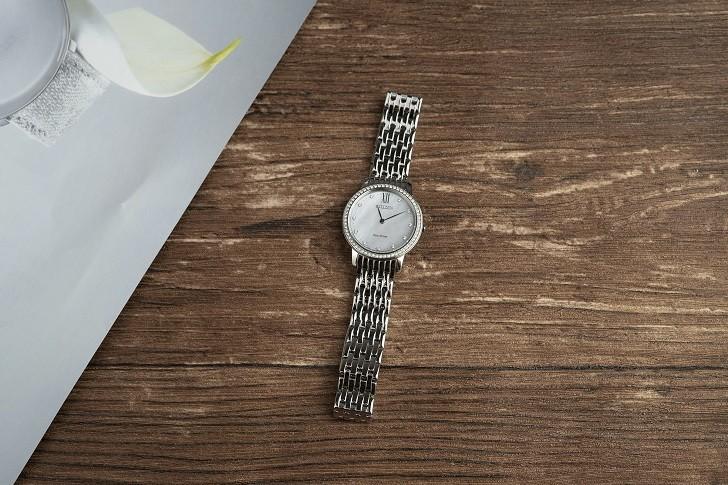 Đồng hồ nữ Citizen EX1480-82D bộ máy năng lượng ánh sáng - Ảnh 2