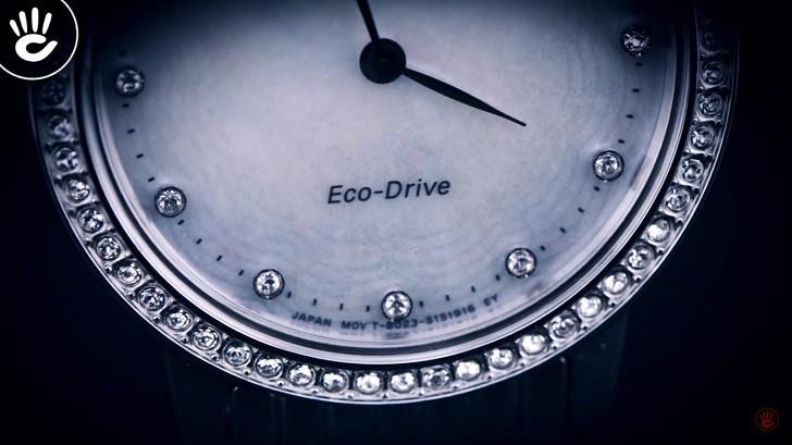 Đồng hồ nữ Citizen EX1480-82D bộ máy năng lượng ánh sáng - Ảnh 4