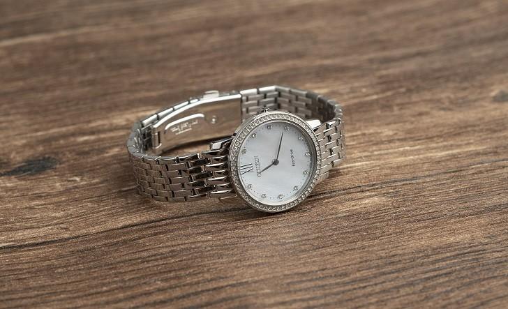 Đồng hồ nữ Citizen EX1480-82D bộ máy năng lượng ánh sáng - Ảnh 5