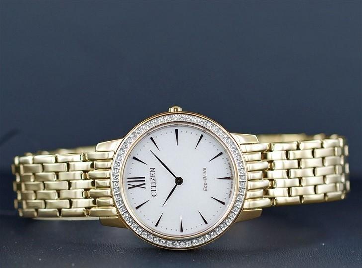 Đồng hồ nữ Citizen EX1483-84A bộ máy năng lượng ánh sáng - Ảnh 1