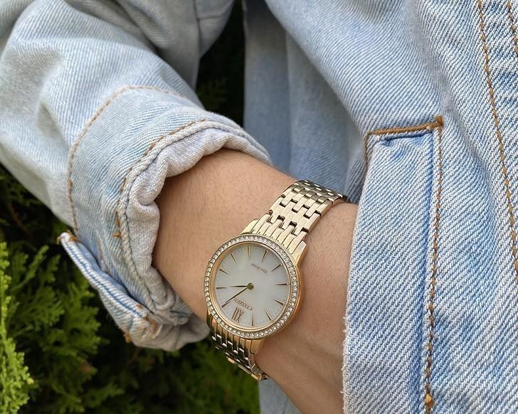 Đồng hồ nữ Citizen EX1483-84A bộ máy năng lượng ánh sáng - Ảnh 2