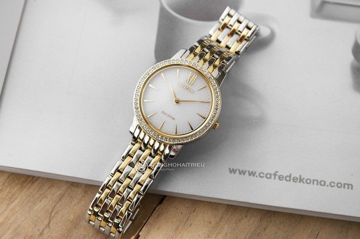 Đồng hồ nữ Citizen EX1484-81A bộ máy năng lượng ánh sáng - Ảnh 1