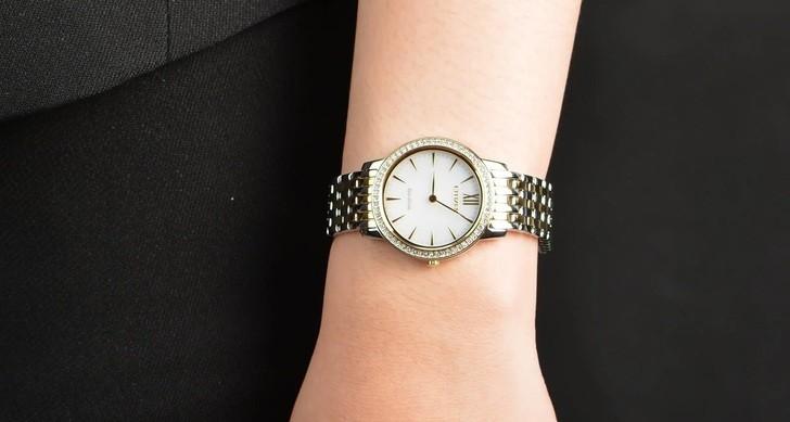 Đồng hồ nữ Citizen EX1484-81A bộ máy năng lượng ánh sáng - Ảnh 3