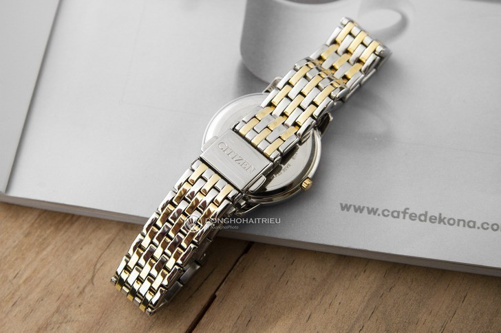 Đồng hồ nữ Citizen EX1484-81A bộ máy năng lượng ánh sáng - Ảnh 4