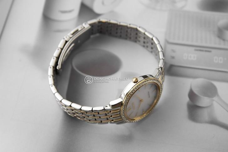 Đồng hồ nữ Citizen EX1484-81A bộ máy năng lượng ánh sáng - Ảnh 5