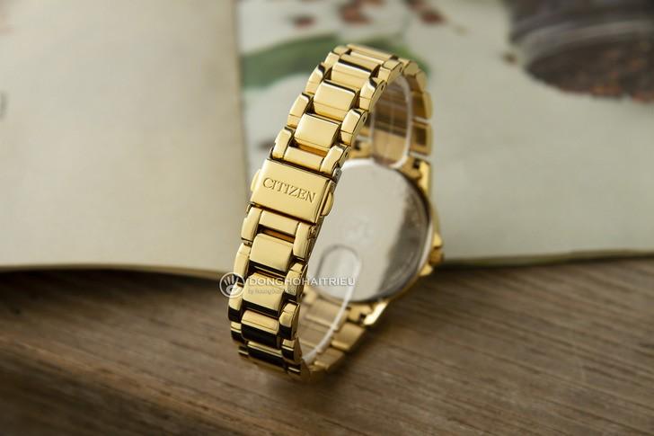 Đồng hồ Citizen FD2042-51P mạ vàng, đính pha lê sang trọng - Ảnh 4