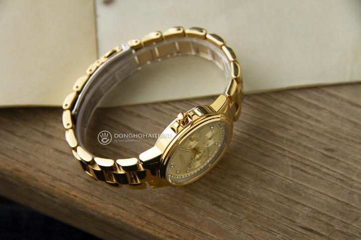 Đồng hồ Citizen FD2042-51P mạ vàng, đính pha lê sang trọng - Ảnh 5
