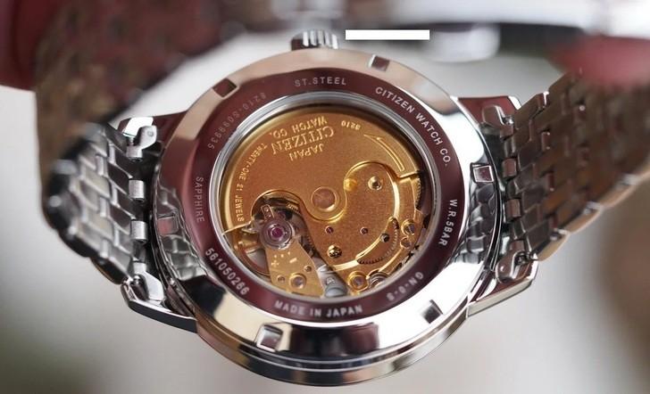 Đồng hồ Citizen NJ0080-50E cơ, máy inhouse lắp ráp tại Nhật Bản - Ảnh: 5