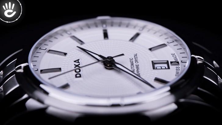 Đồng hồ Doxa D153SSV máy cơ Thuỵ Sỹ, chuẩn Swiss Made - Ảnh 3