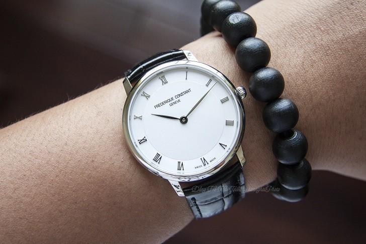 Đồng hồ Frederique Constant FC-200RS5S36 thiết kế siêu mỏng - Ảnh 2